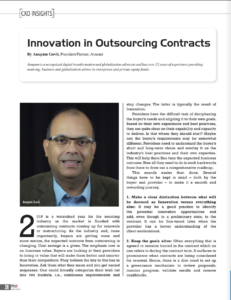 Innovation in Outsourcing Contracts